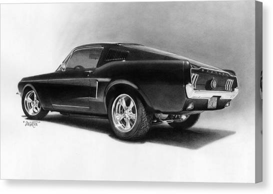 '68 Fast Back Canvas Print