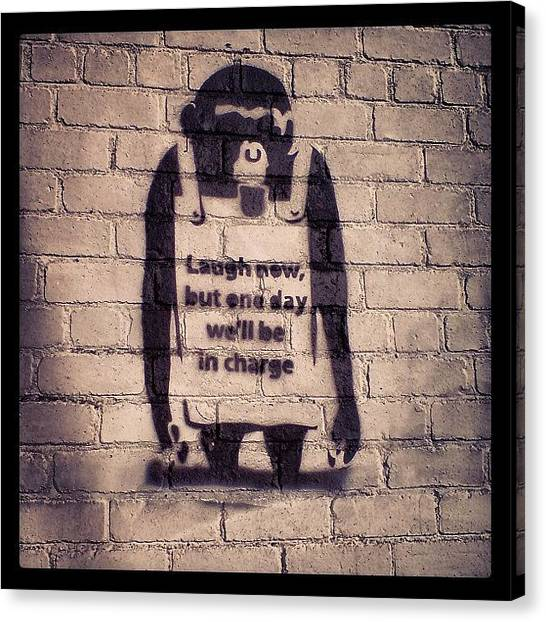 Primates Canvas Print - Instagram Photo by Miss Wilkinson