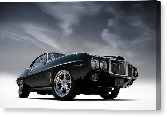 1969 Canvas Print - 69 Pontiac Firebird by Douglas Pittman