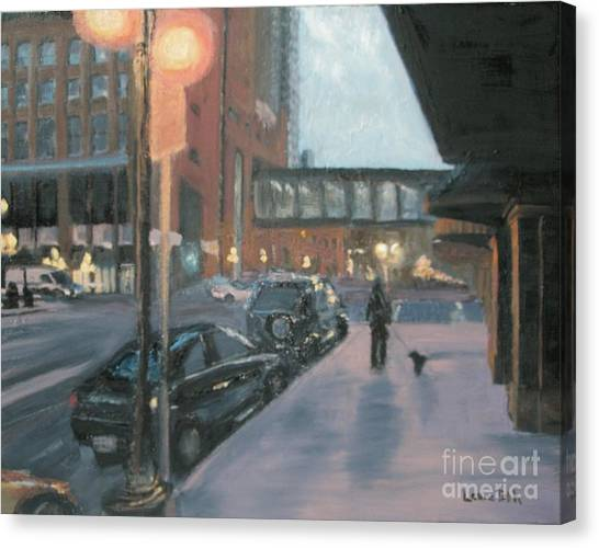 6th And Sibley Canvas Print