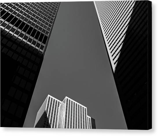 Abstract Architecture - Toronto Canvas Print