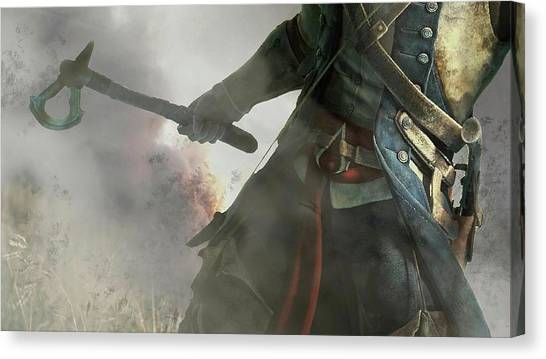 Spurs Canvas Print - Assassin's Creed IIi by Super Lovely