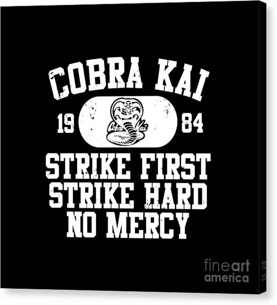 Cobra Canvas Print - Cobra Kai by Kilo Leker