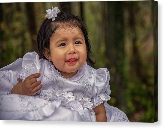 Cruz Baptism Canvas Print