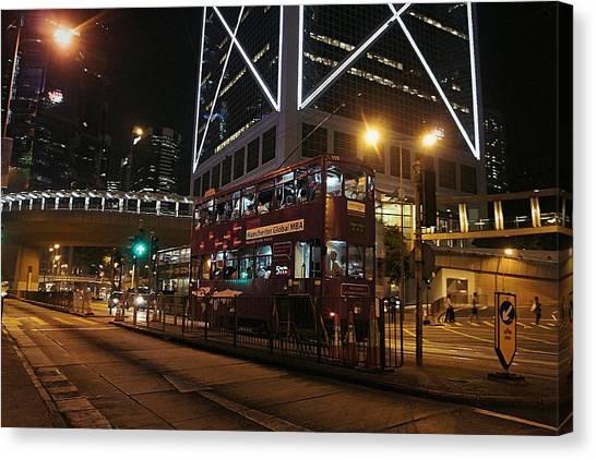 Hong Kong Canvas Print - Hong Kong by Takaaki Yoshikawa