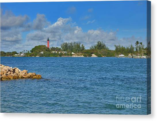 7- Jupiter Lighthouse Canvas Print