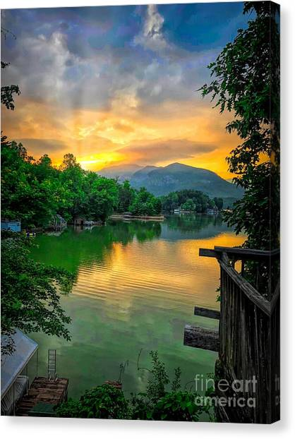 Lake Lure Canvas Print