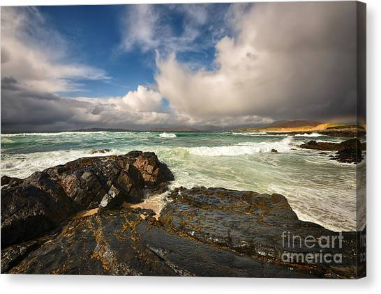 Scottish Canvas Print - Scarista by Smart Aviation