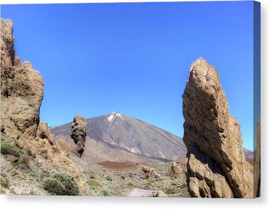 Canaries Canvas Print - Tenerife - Mount Teide by Joana Kruse