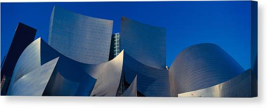 Contour Canvas Print - Walt Disney Concert Hall, Los Angeles by Panoramic Images