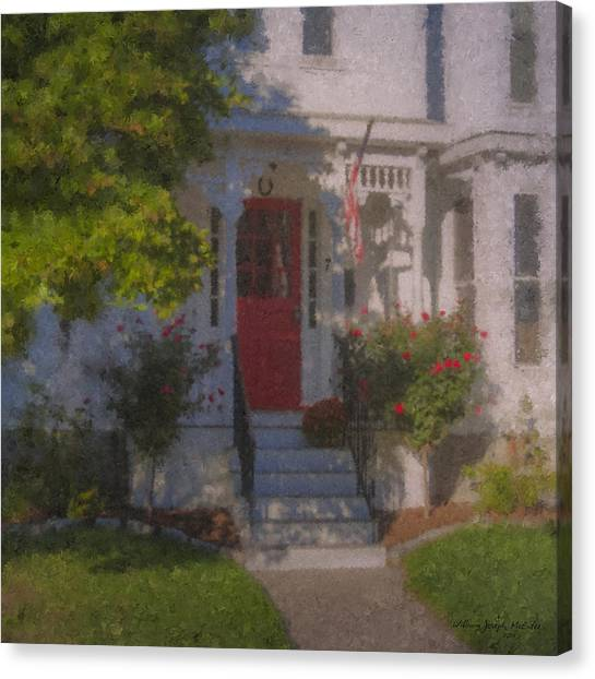 7 Williams Street Canvas Print