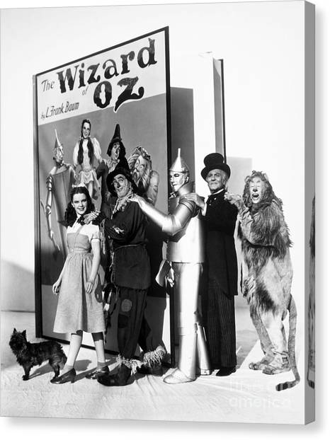 Fantasy Canvas Print - Wizard Of Oz, 1939 by Granger