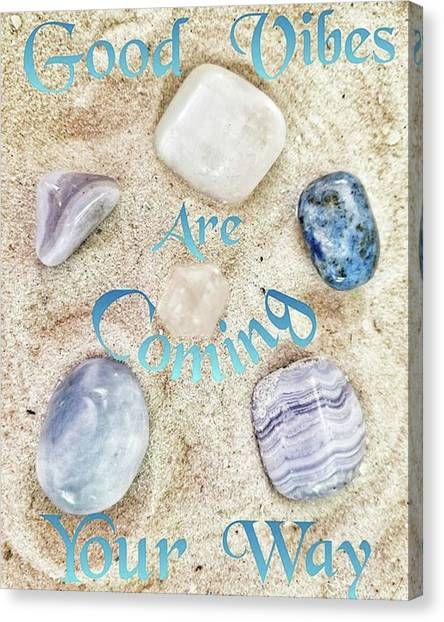 Gemstones Canvas Print - Instagram Photo by Rachel Hannah