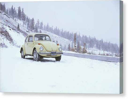 71 Vw Bug Canvas Print