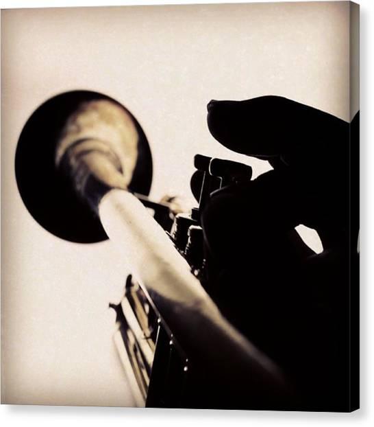 Trumpets Canvas Print - Instagram Photo by Yuji Watanabe
