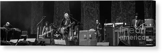Tom Petty Canvas Print - Tom Petty And The Heartbreakers by David Oppenheimer