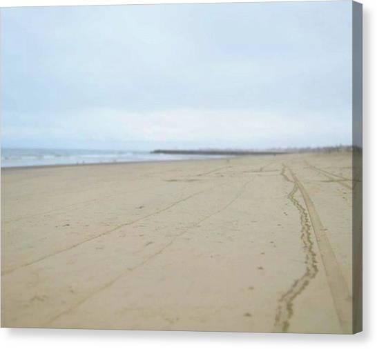 Yen Canvas Print - Day At The Beach by Yen Tran