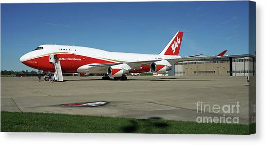 747 Supertanker Canvas Print