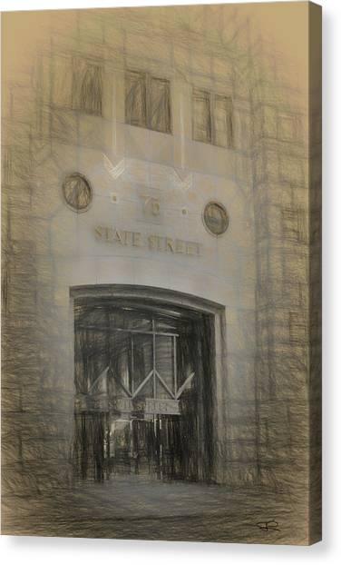 75 State Street Canvas Print
