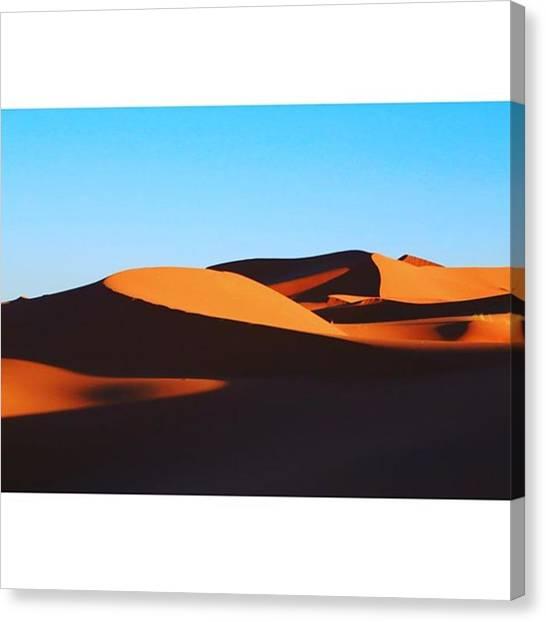 Sahara Desert Canvas Print - Instagram Photo by Kenta Sudo