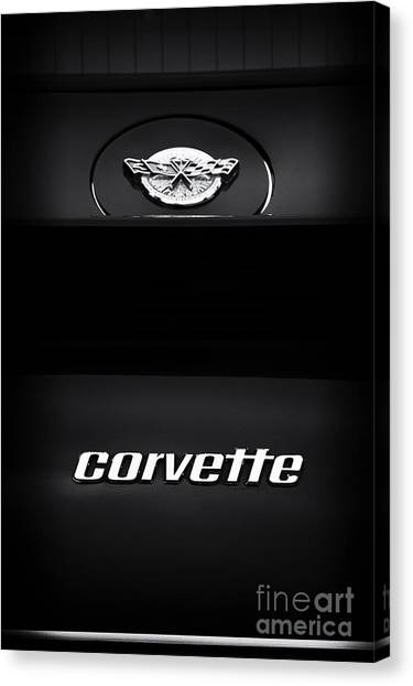 1978 Canvas Print - 78 Corvette by Tim Gainey