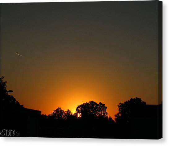 7am Sunrise Canvas Print