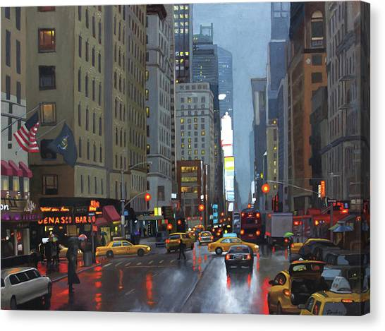 7th Avenue Canvas Print