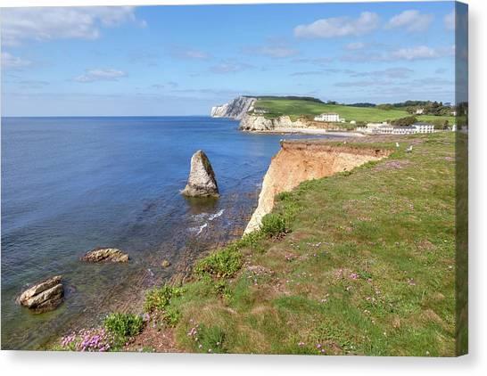 Freshwater Canvas Print - Isle Of Wight - England by Joana Kruse