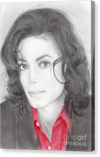 Michael Jackson #two Canvas Print