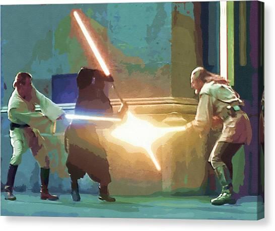 C-3po Canvas Print - Movies Star Wars Art by Larry Jones