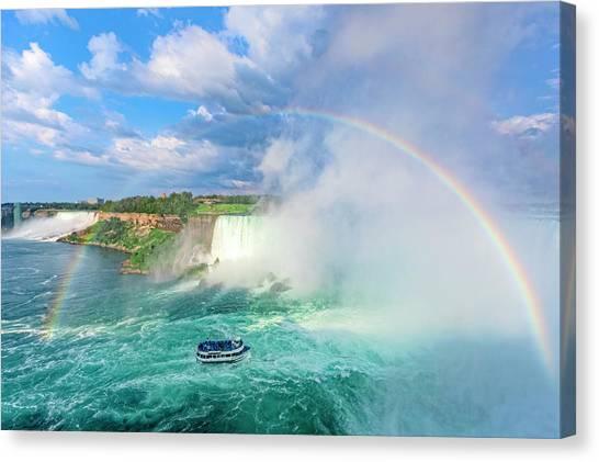Horseshoe Falls Canvas Print - Niagara Falls - North America by Joana Kruse