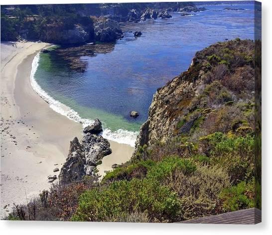 Point Lobos Beach Canvas Print