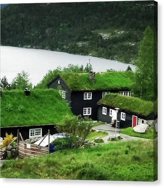 Preikestolen Canvas Print - #travel #reise #norway #norwegian by Sumire Kasagawa
