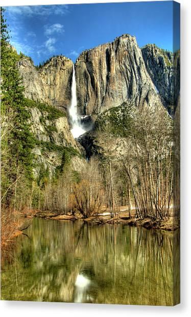 Yosemite Falls Canvas Print by Marc Bittan