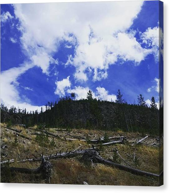Rocky Mountains Canvas Print - Sky Touching Earth by Jonathan Stoops
