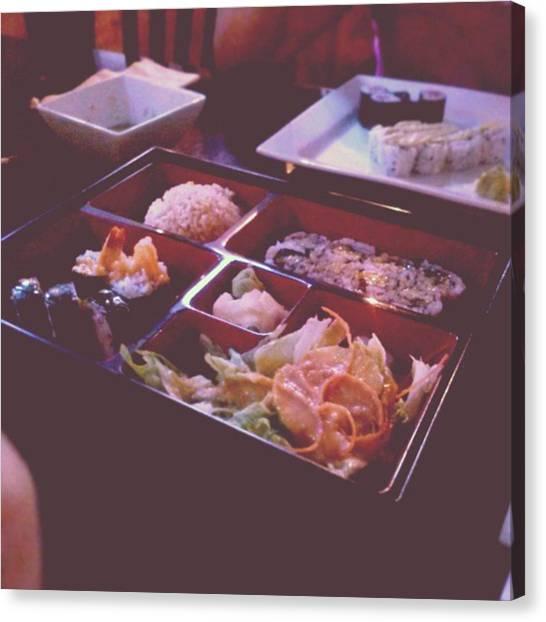 Japanese Canvas Print - Sushi by Kamiyah Franks