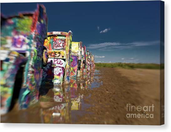 Texas 66 Canvas Print