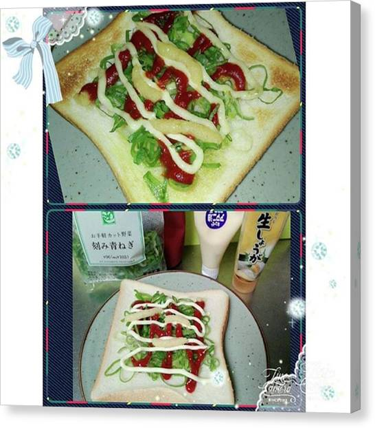 Mayonnaise Canvas Print - Instagram Photo by Tomomi Sato