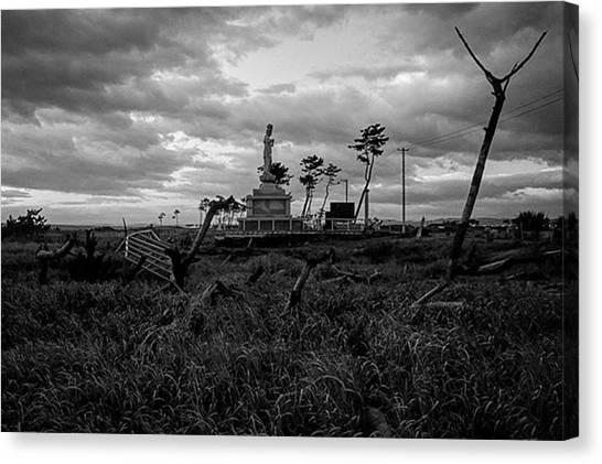 Tsunamis Canvas Print - Instagram Photo by Atsushi Kikuchi