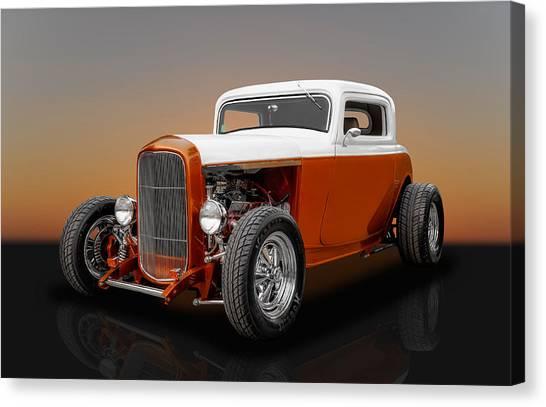 1932 Ford 3 Window Canvas Print