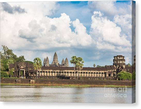 Angkor Wat In Cambodia Canvas Print