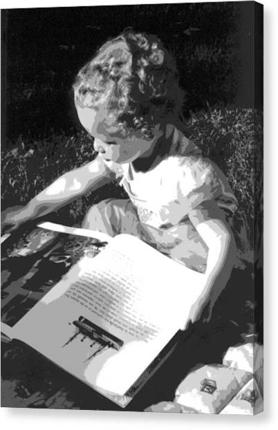Children Series Canvas Print by Ginger Geftakys