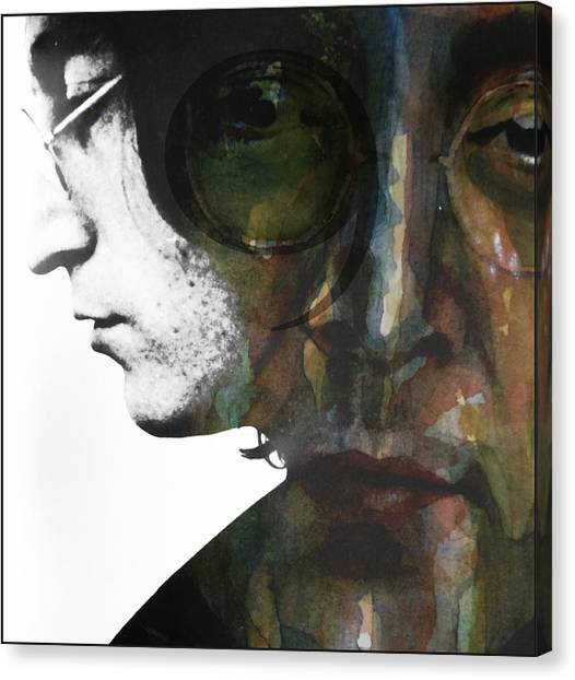 The Beatles Canvas Print - #9 Dream by Paul Lovering