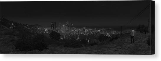 Grand Theft Auto Canvas Print - Grand Theft Auto V by Super Lovely