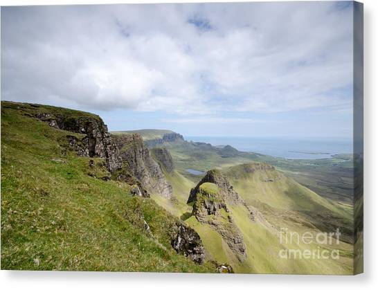 Scotland Canvas Print - The Quiraing by Smart Aviation