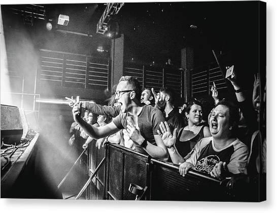 Uk Foo Fighters Live @ Edinburgh Canvas Print
