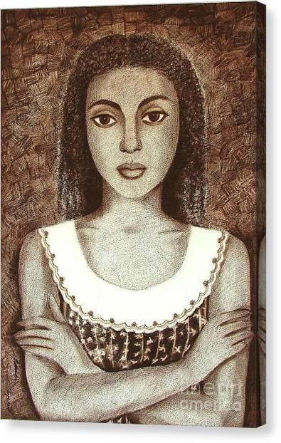 Untitled Canvas Print by Padmakar Kappagantula