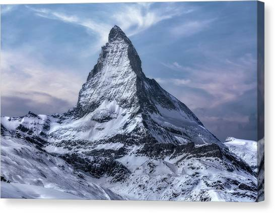 Europa Canvas Print - Zermatt - Switzerland by Joana Kruse