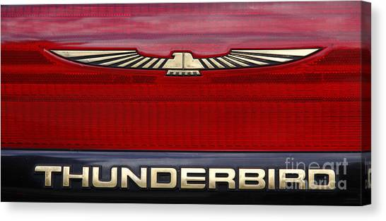 90s Thunderbird Canvas Print