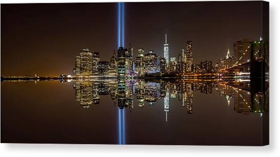 911 Reflection Canvas Print